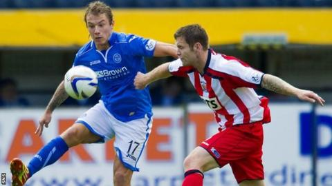 Stevie May and Darren Barr