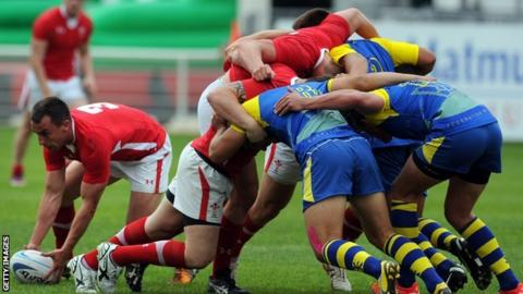 The Wales Sevens rugby team will play in Glasgow