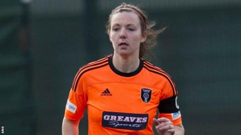 Glasgow City captain Rachel Corsie