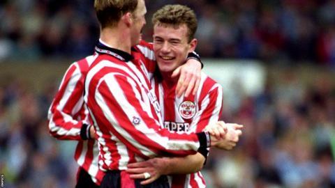 Alan Shearer and Iain Dowie