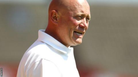 Nicky Law: Alfreton Town boss uncertain of his future with Reds