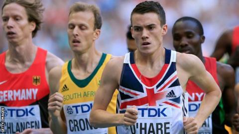 Scotland's Chris O'Hare has qualified for the 1500m final in Moscow