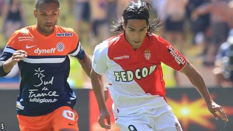 Radamel Falcao of Monaco