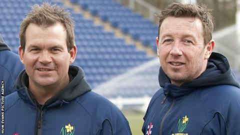 Matthew Mott and Robert Croft