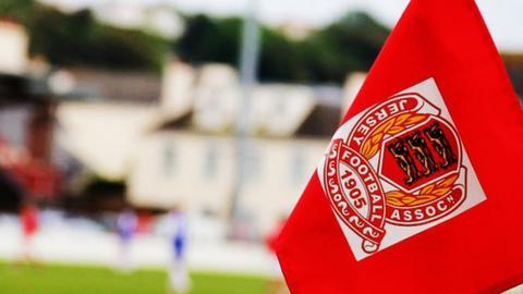 Jersey FA corner flag