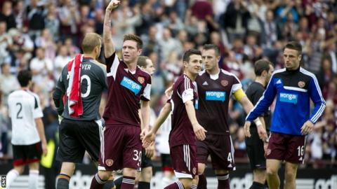 Hearts at the final whistle