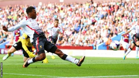 Daniel Sturridge puts Liverpool in front