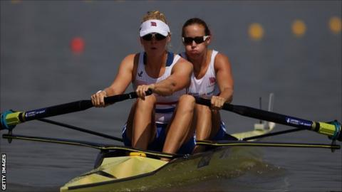 Polly Swann and Helen Glover