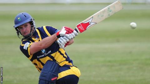 Glamorgan's James Allenby