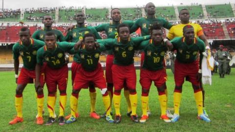 Cameroon's CHAN team