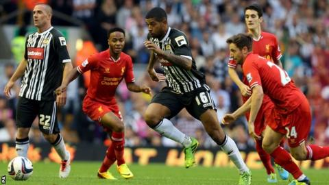 Liverpool v Notts County
