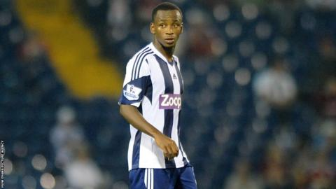 Saido Berahino scores a hat-trick on his full West Bromwich Albion debut
