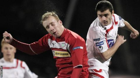 Cliftonville take on Portadown at Solitude