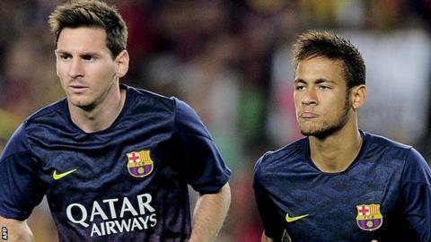 Lionel Messi; Neymar
