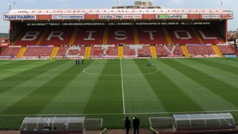 Bristol City's Ashton Gate stadium