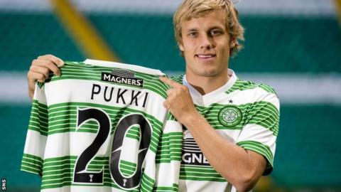 Celtic signing Teemu Pukki