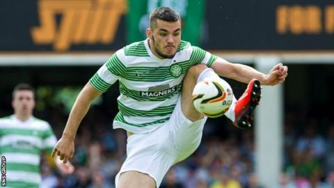 Celtic striker Tony Watt