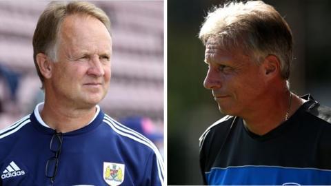 Sean O'Driscoll and John Ward
