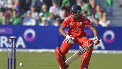 Ravi Bopara scored a century for England as England beat Ireland by six wickets in Dublin