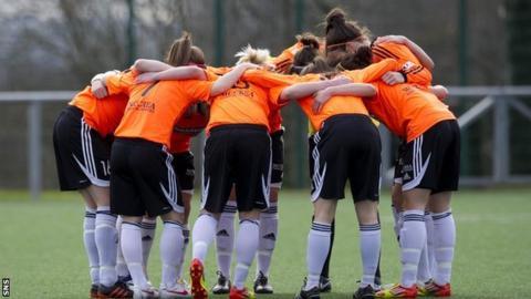 Glasgow City players