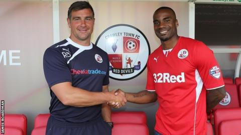 Richie Barker and Emile Sinclair