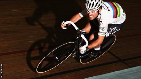 Mark Cavendish: British sprinter third in Gent madison ...