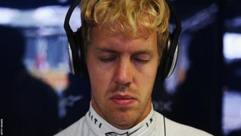 Two-time World Champion Sebastian Vettel
