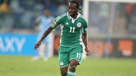Nigeria's Victor Moses