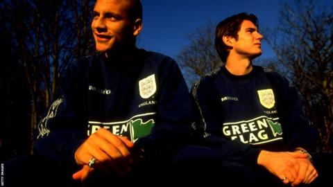 Lampard represented England at U21 level, alongside West Ham team-mate Rio Ferdinand.