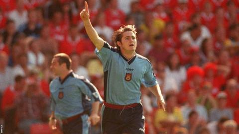 Frank Lampard made West Ham debut in 1996