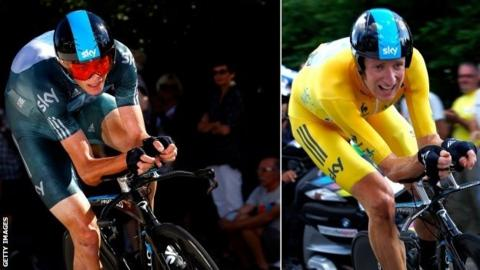 Chris Froome and Sir Bradley Wiggins