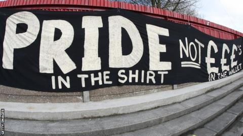 Accrington Stanley banner