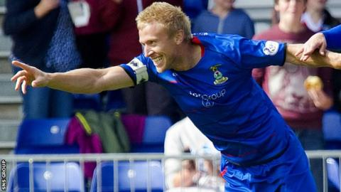 Inverness captain Richie Foran