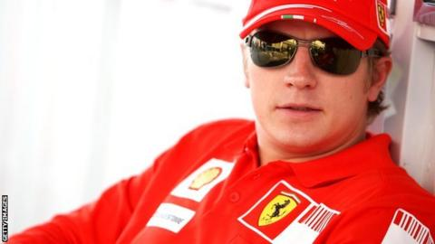 Kimi Raikkonen and Ferrari