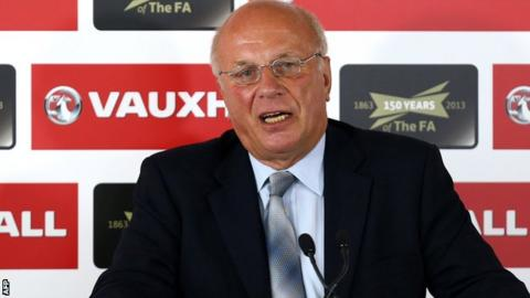 New Football Association chairman Greg Dyke