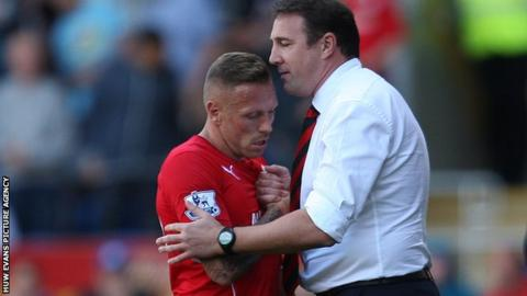 Craig Bellamy and Malky Mackay
