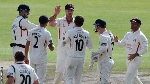 Lancashire v Leicestershire