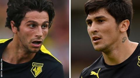 Diego Fabbrini (left) and Fernando Forestieri (right)