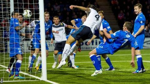 Bilel Mohsni scores for Rangers against Queen of the South