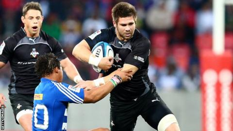 Cornell du Preez in action for Southern Kings against Stormers