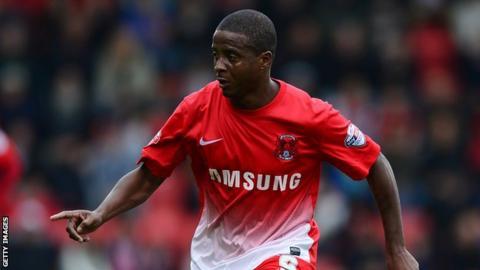 Leyton Orient striker Kevin Lisbie