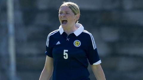 Scotland defender Leanne Ross