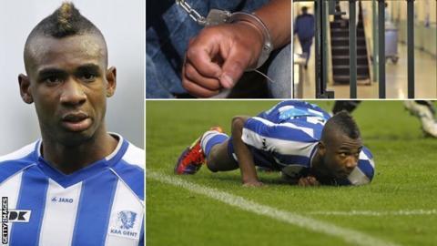 Prison footballer