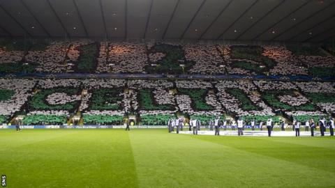 Celtic celebrated their 125th anniversary with a 2-1 victory against Barcelona