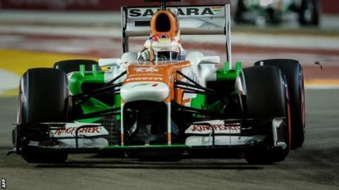 Paul Di Resta's Force India