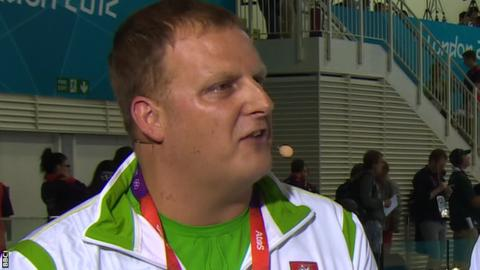 Ruta Meilutyte's coach Jon Rudd
