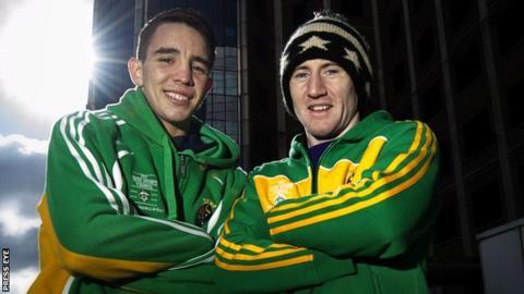 Michael Conlan and Paddy Barnes