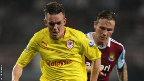 Cardiff City's Craig Noone