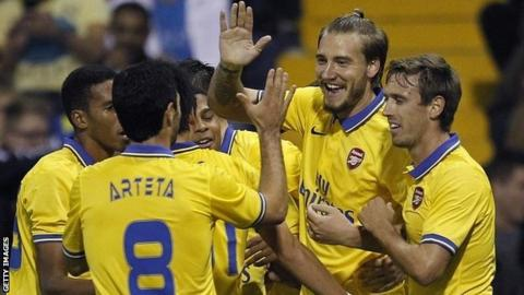 League Cup draw: Arsenal host Chelsea in fourth round