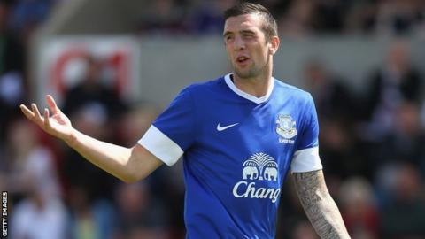 Everton defender Shane Duffy